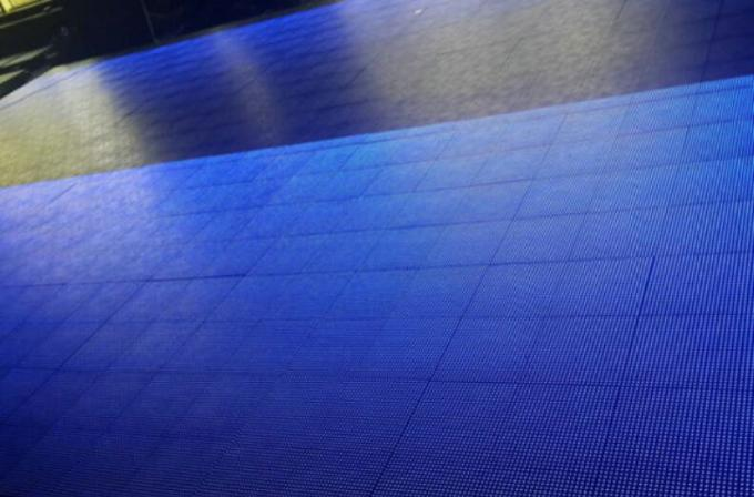 Interactive Waterproof P8.33 Dance Floor LED Display For Rental Lightweight