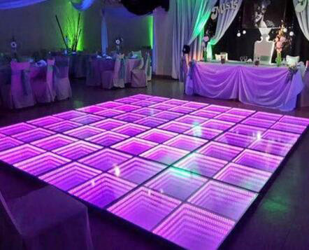 Advertising Stage Dance Floor LED Display / LED Light Up Dance Floor Hire