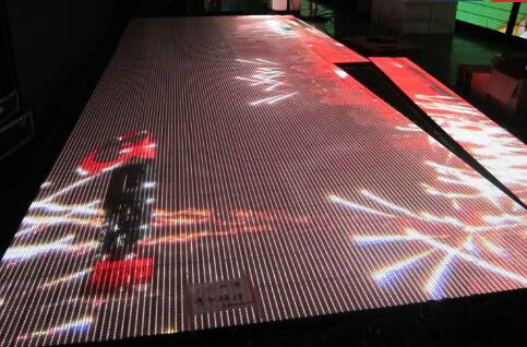 Video Portable Interactive Led Dance Floor