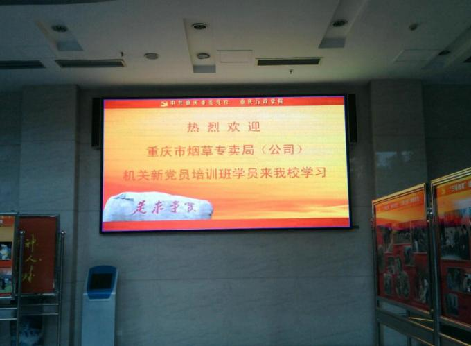 SMD Full Color LED Large Screen Display / P4 Indoor LED Display Board