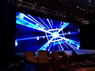 China P3.91 P4.81 P5.95 P6.25 Flexible LED Display Screen , Curved LED Video Wall supplier