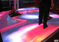 China Full Color Indoor Dance Floor LED Display , LED Light Up Dance Floor Tiles factory