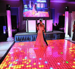 Interactive Led Dance Floor Hire , P6.25 Led Video Dance Floor Support 3d