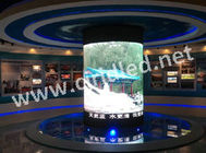 China HD LED Digital Advertising Display , Full Color P3 Indoor LED Screen High Brightness factory