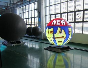P4 Indoor Creative LED Display 360 Degree Sphere Ball Led Screen Full Color 3D Sphere