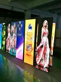 Shopping Mall P3 Electronic Poster Display , Led Video Display With Wifi/3G/4G Controller