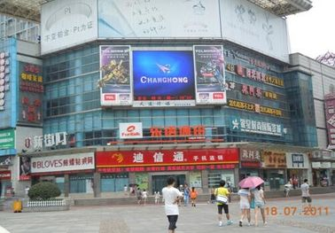 Etl P10 High Refresh Rate Outdoor Advertising LED Display Screen Ul Led Sign 6mm Smd