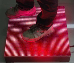 China Waterproof LED Dance Floor For Party Stage 5050 SMD 3in 1 Video Mode IP65 factory