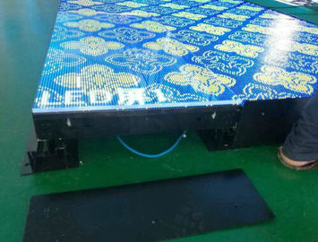 Multifunction LED Lighted Dance Floor Panels / Interactive Led Screen Dance Floor