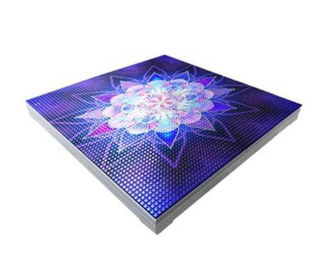 China Video Portable Interactive Led Dance Floor factory
